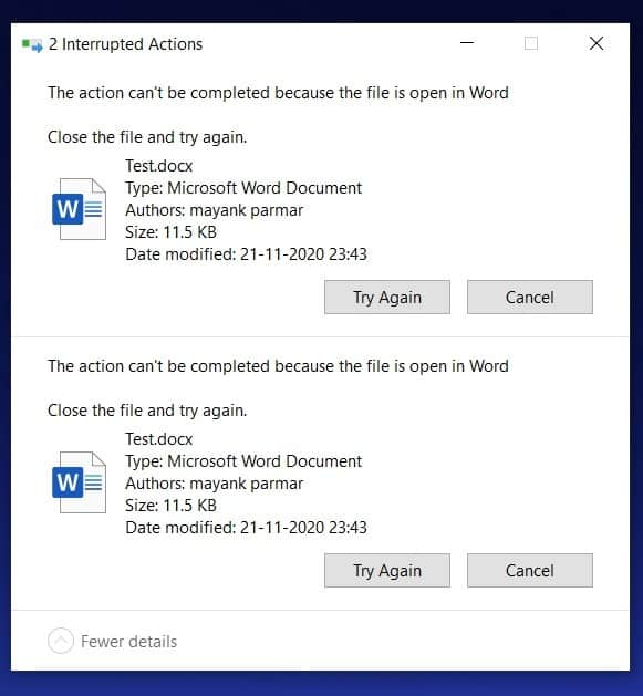 Windows 10 old problem