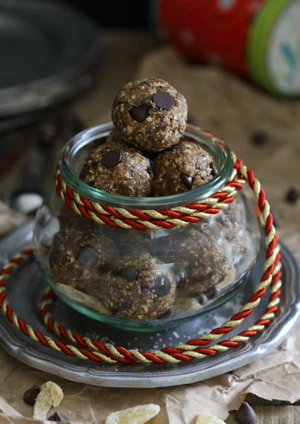 Gingerbread Chocolate Chip Bites