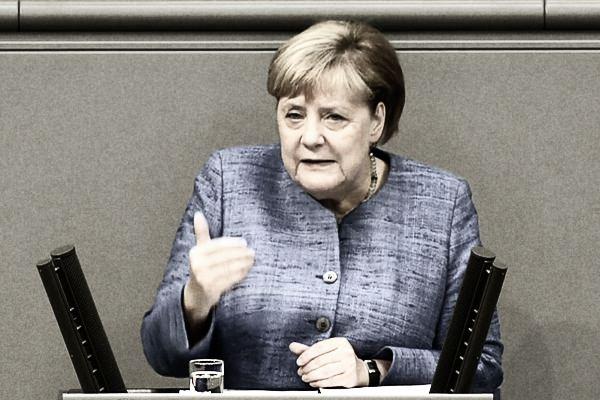 Angela Merkel bei der Generalaussprache