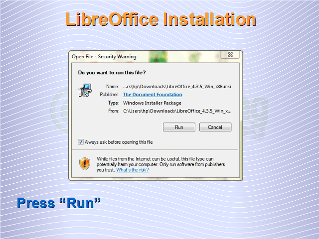How To Install Libreoffice