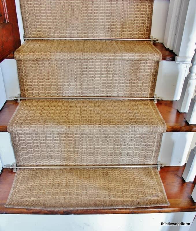 Diy Indoor Outdoor Stair Runner Thistlewood Farm   Stair Step Carpet Runners   Hallway Carpet   Walmart   Flooring   Non Slip Stair   Wall Carpet