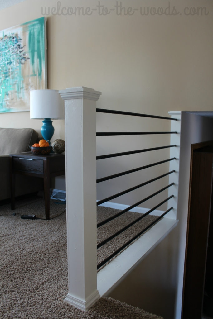 Stair Railing Diy Makeover | Modern Newel Post Designs | Contemporary | Maple | Staircase Spindle | Modern Box | Hollow