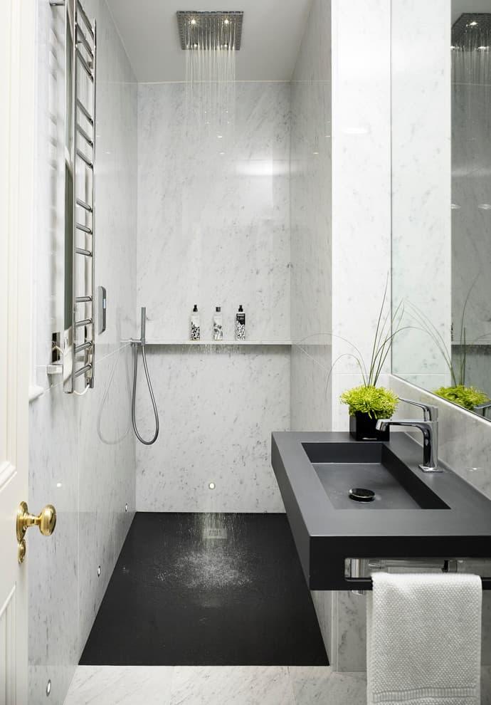 50+ Best Small Bathroom Ideas - Bathroom Designs for Small ... on Small Space Small Bathroom Tiles Design  id=88817
