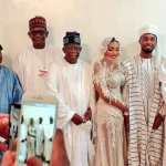 Tinubu, Atiku Pose Together In New Wedding Photos