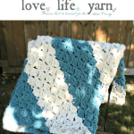 Quick And Easy Baby Blanket Free Crochet Pattern Love Life Yarn