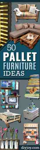 50 Diy Pallet Furniture Ideas