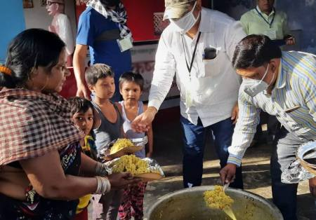 Mission India's Coronavirus Relief Kits Opened Gospel Doors with Families in India