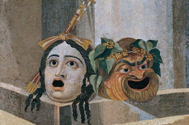 Maschere Greche: il Teatro Antico in Dramma e Commedia Scambieuropei