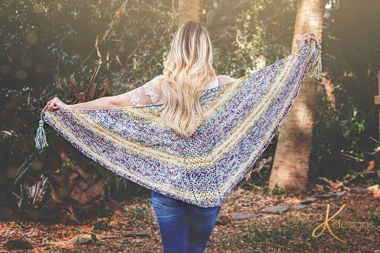 Faroese Knit Shawl by Briana K Designs