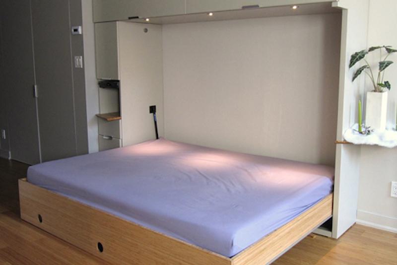 diy murphy bed how to easily build in