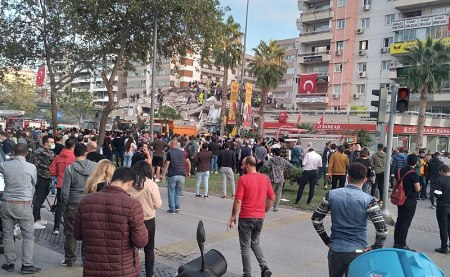 Churches in Izmir, Turkey Reach Out to People Most Impacted by Massive Earthquake