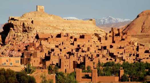 Ville de Ouarzazate Maroc