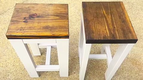 how to build 2 farmhouse end tables for 20