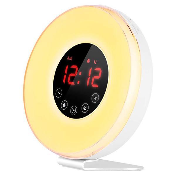 Control Coulax Light Alarm Clock
