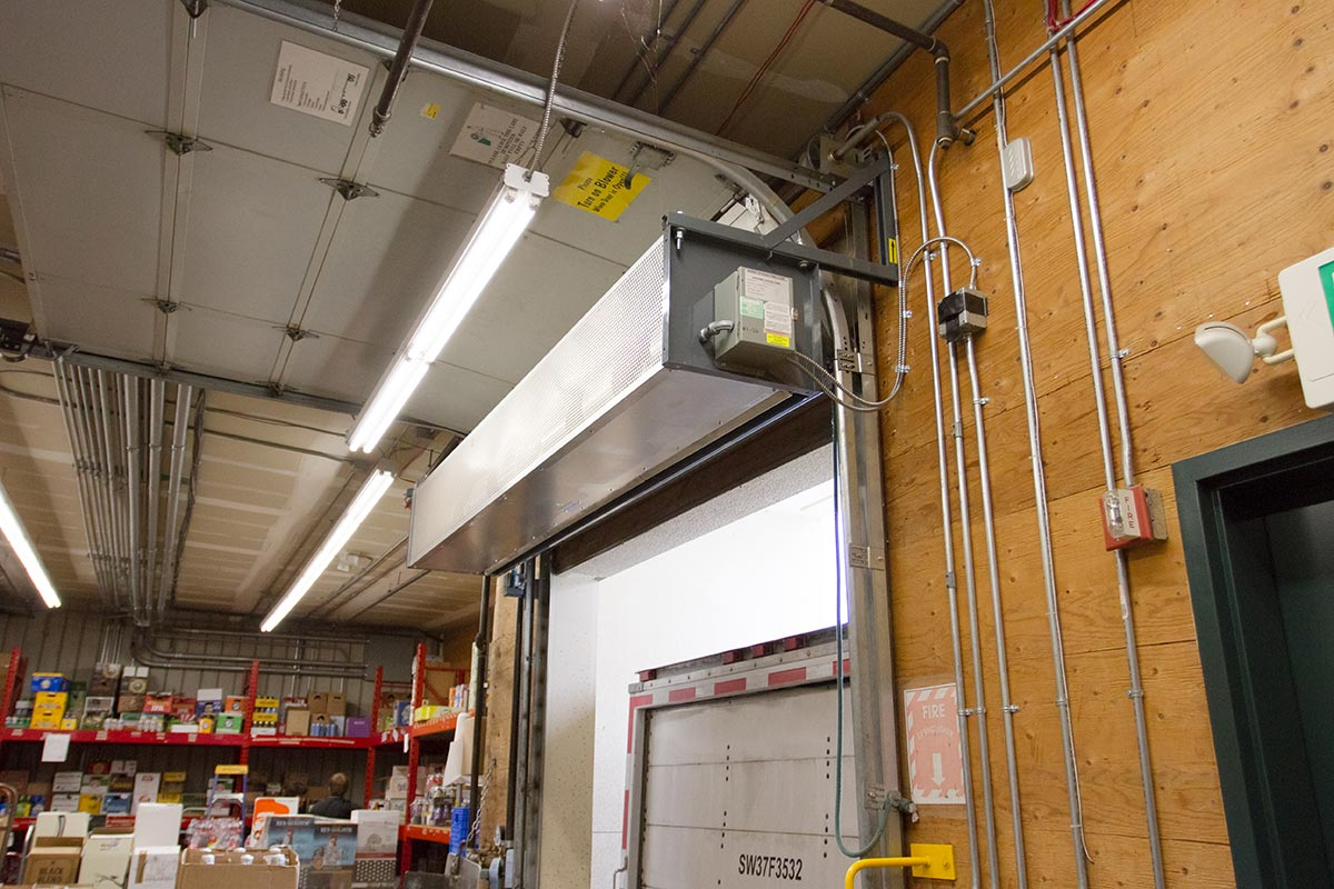 air doors and air curtains from dock