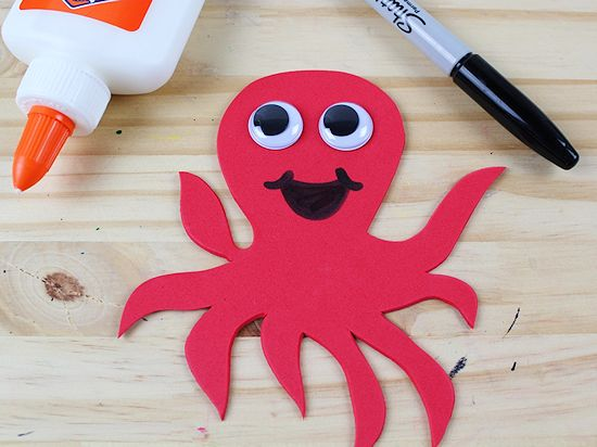 O Is For Octopus Letter Craft Our