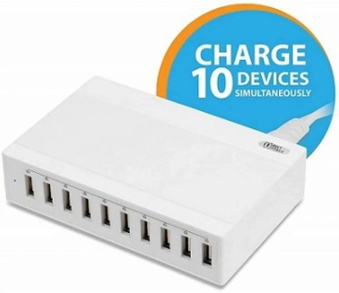AVLT-Power 60W 10-Port USB Wall Charger