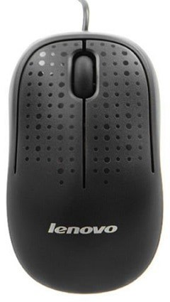 Lenovo USB optical mouse M110 Black