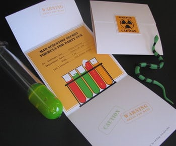 science party ideas free party printables