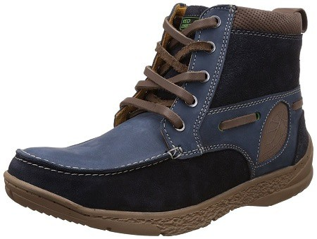 Redchief Men's Leather Trekking and Hiking Shoes