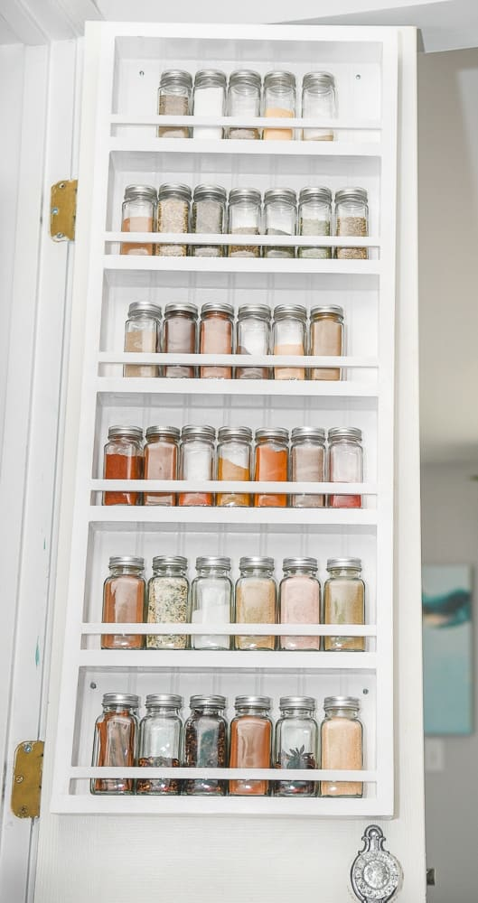 diy pantry door organizer