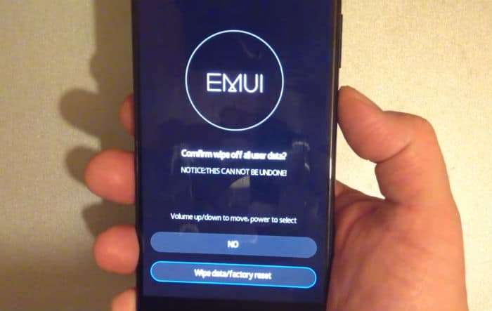 How To Boot Your Huawei P10 P10 Plus In Safe Mode Wipe