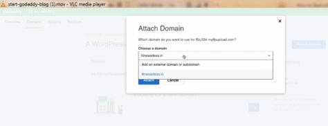 attach domain