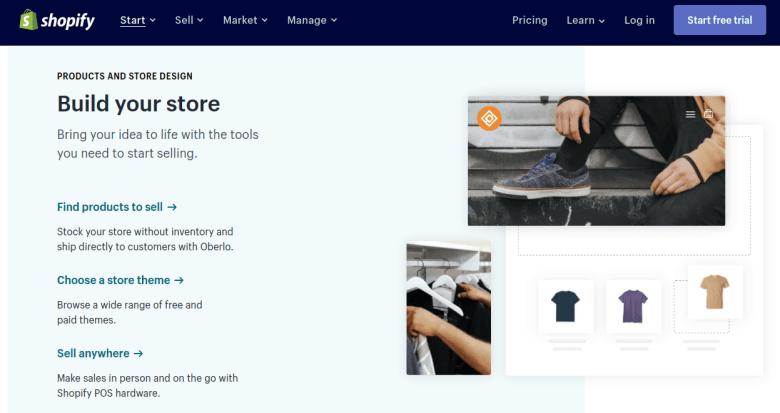 Costruisci Shopify Store - Modi come fare soldi online