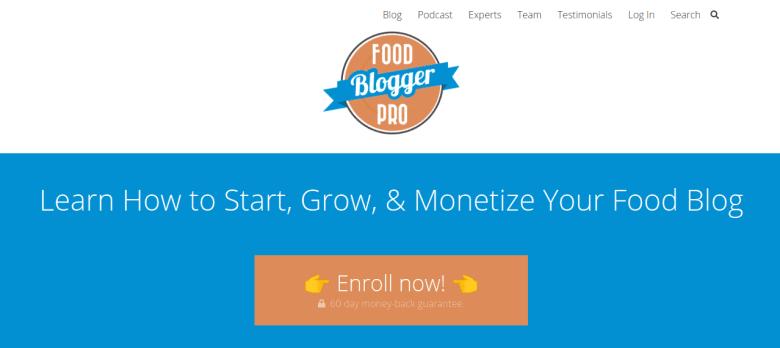 Abbonamento a Food Blogger Pro: modi per fare soldi online