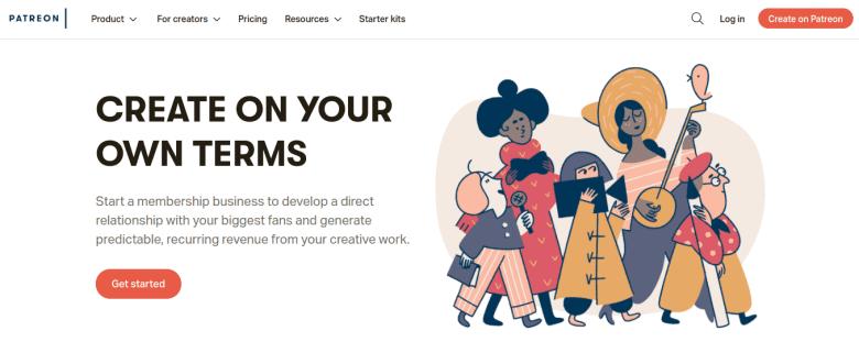 Patreon Home - Modi come fare soldi online