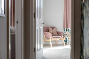 Hallway at 1-bed shared ownership apartments in New Brighton, Wirral