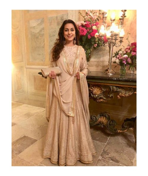 Juhi Chawla in salwar suits