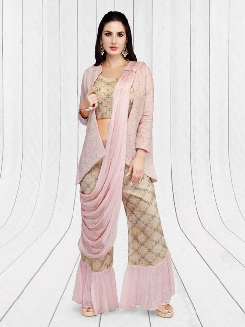 Pant Style Stylish Salwar Suit Design