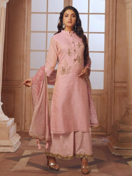 New style Salwar Suit with Palazzo Design