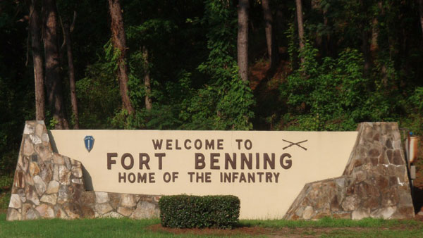 United States Army, Fort Benning, Columbus, Georgia - Home of the Infantry.