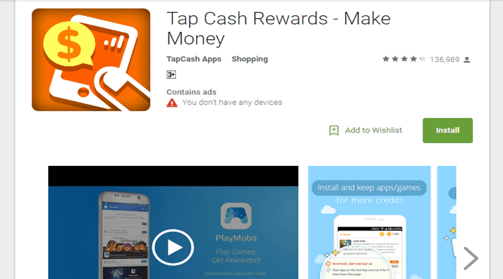 tap cash - The Internet Tips
