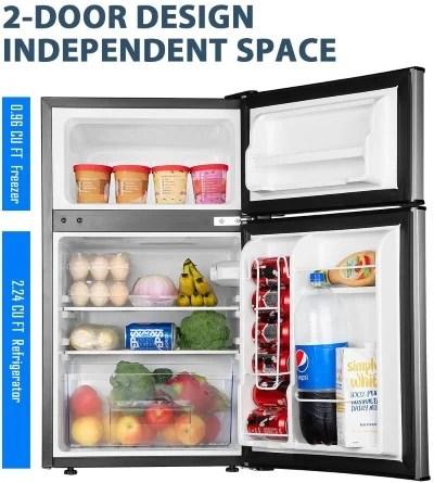 best mini fridge with freezer for dorms