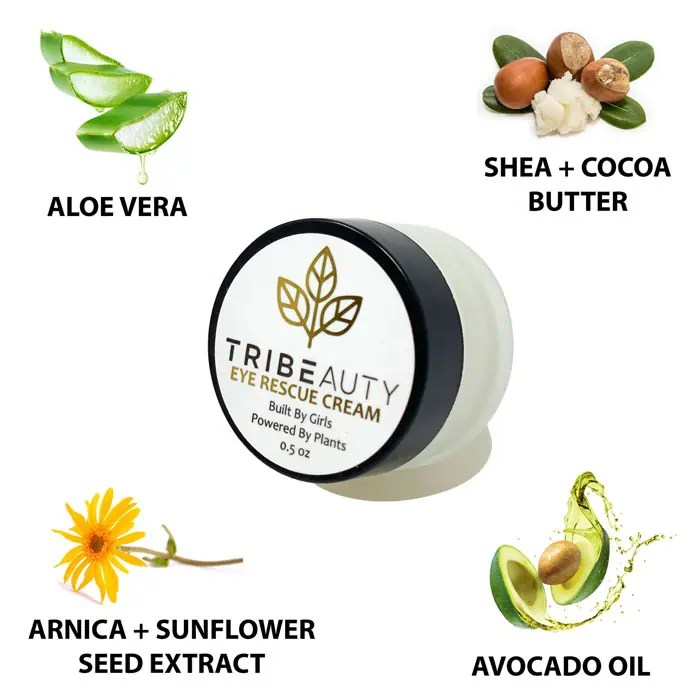 Travel Size CBD Eye Cream - Reduces Dark Circles, Wrinkles and Puffiness