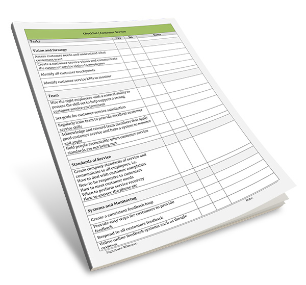 The goal is to make sure you've thought about all the differ. Free Checklist Template Word Archives Digital Documents Direct Templates