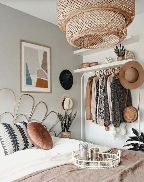 how to design bedrooms in boho style