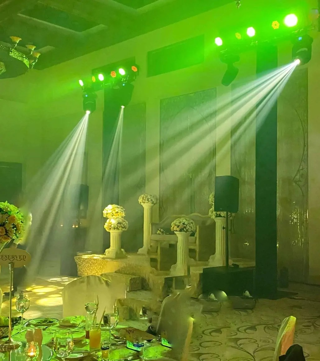 sound lighting hire for weddings a7