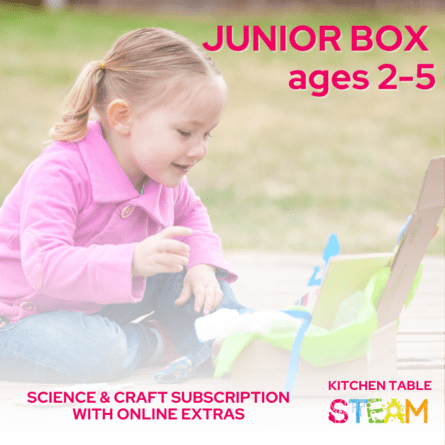 Green Kid Crafts - Junior Science & Craft Subscription (Ages 2-5)   NOW: null