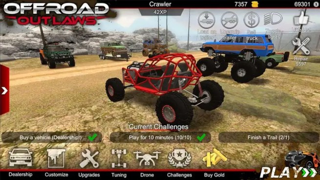 Offroad Outlaws screen 0