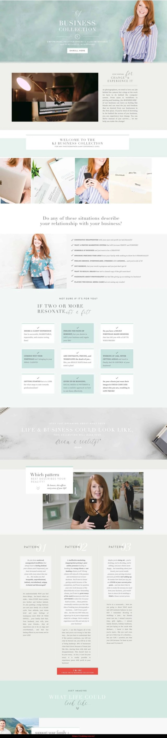 KJ Business Collection by Katelyn James Sales page
