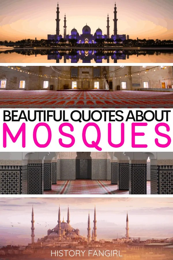 50 Beautiful Quotes About Mosques For Spiritual Captions