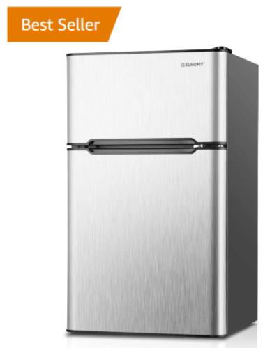 mini fridge microwave stand