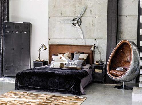 Del nord america 7 fatti e cifre del mercato mobili per camere da letto. Camera Da Letto Stile Industriale Come Arredarla Casa Magazine