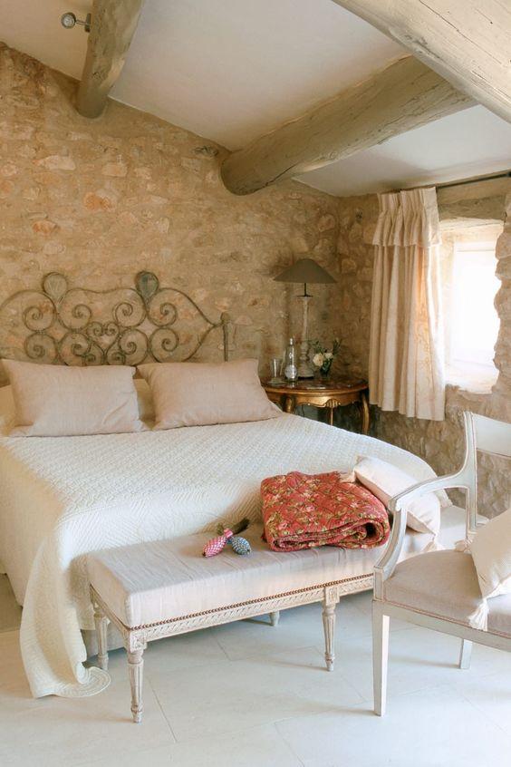 I dettagli del design della camera da letto. Camera Da Letto Stile Provenzale Accogliente E Romantica Casa Magazine