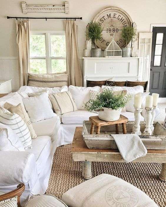 Visualizza altre idee su arredamento, shabby chic, arredamento casa. Salotto In Stile Country Chic Come Realizzarlo Casa Magazine