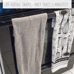 How To Make Hanging Kitchen Towels Practically Functional